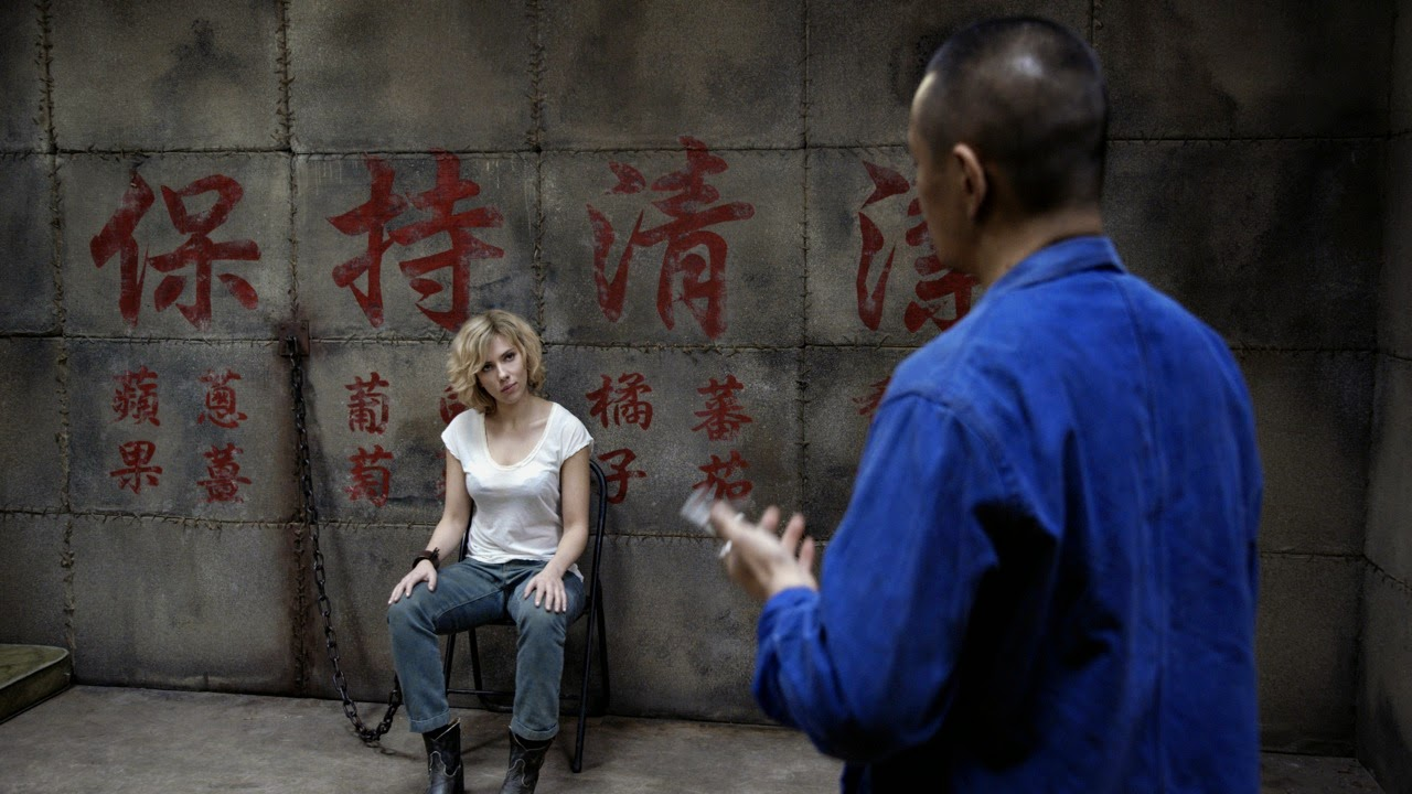 Lucy Scarlett Johansson Movie Still