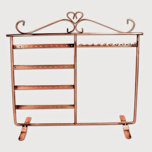 Make An Eye Catching Jewelry Stand From Plumber S Copper: Modern And Stylish Wire Metal Display For Your Jewelry
