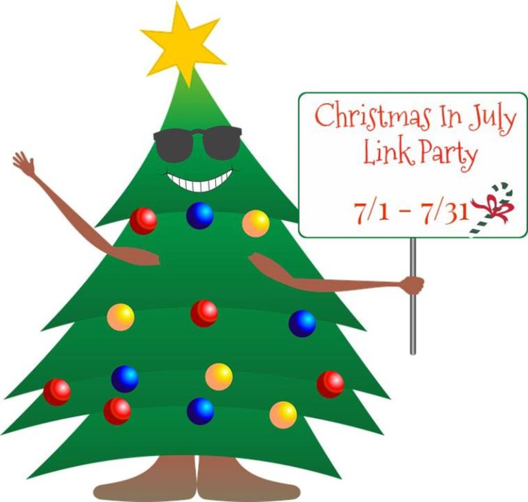 Christmas in July Linky Party 2017