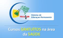 TELELAB - Cursos Grátis do Ministério da saúde.