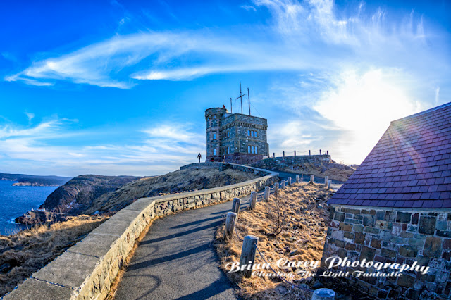 Cabot Tower Signal Hill St John's Newfoundland Photography