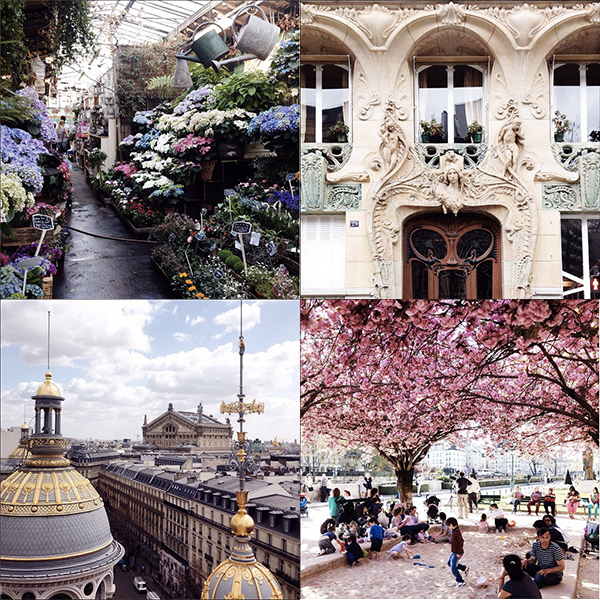 My favorite Instagrams from Paris