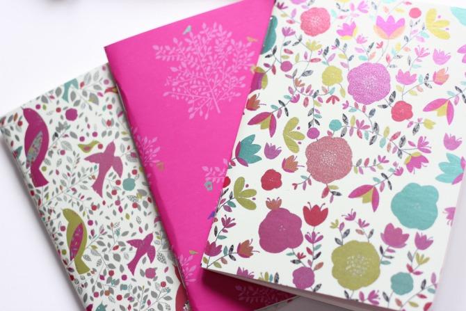 Lovemebeauty May notebooks