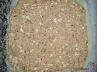 Brazo gitano salado-añadiendo el relleno