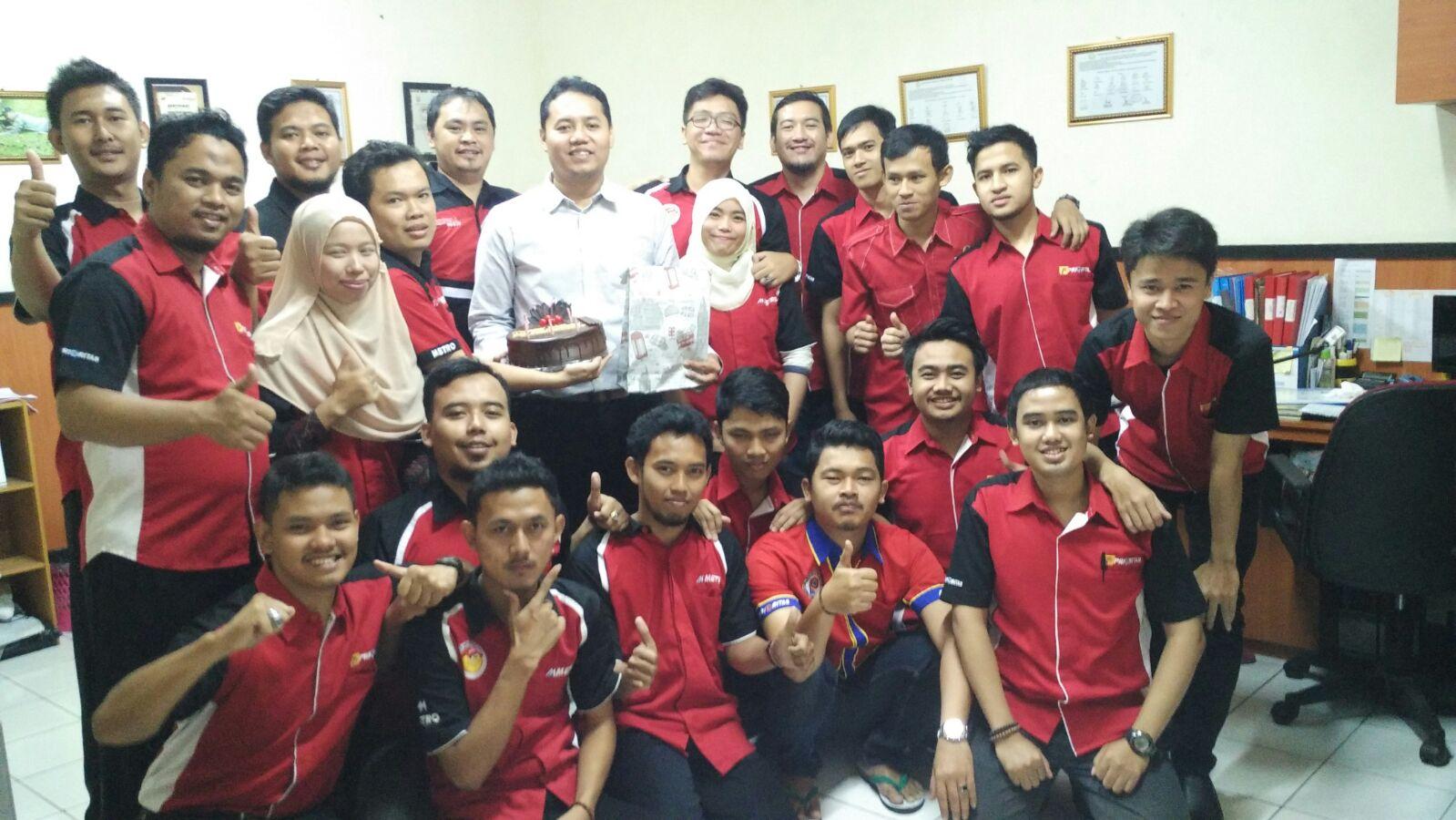 Profil Auditor Prioritas Group 2016 Mochamad Ali Dwi Saputra
