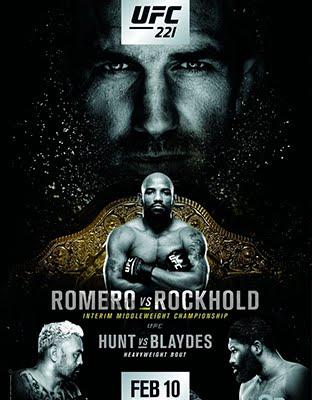Ver UFC 221 Romero vs Rockhold En VIVO