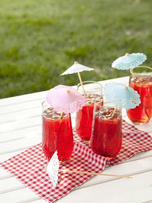 ombrellini cocktail diy