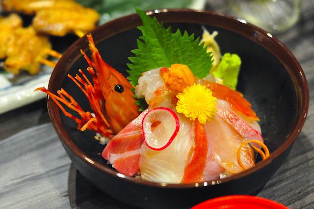 Haru Haru Japanese Restaurant Chirashi Don Premium