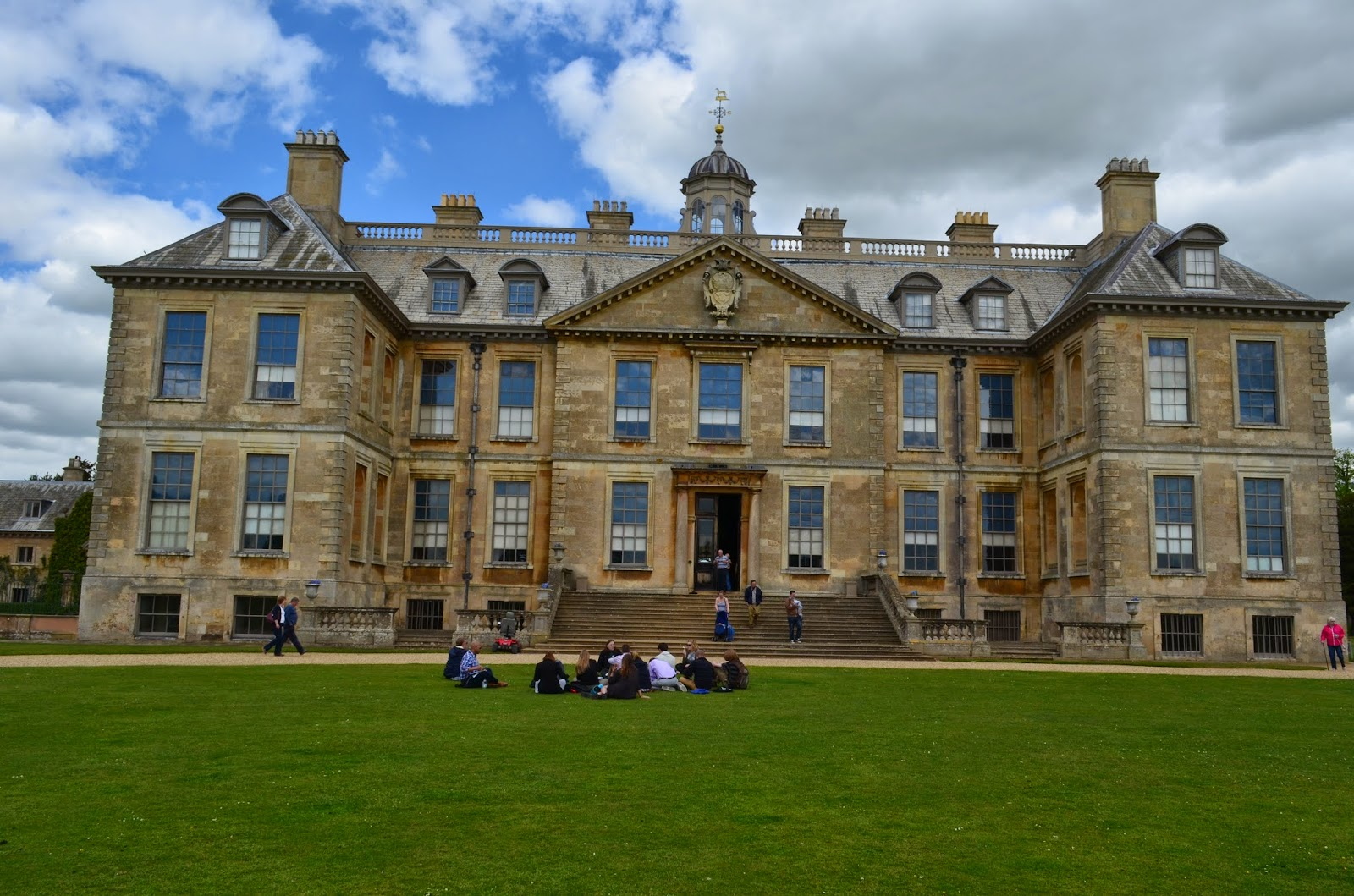 Mountaineers at Harlaxton Belton House in Grantham