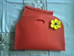 Bolsa em EVA c/ bolsa pequena interior