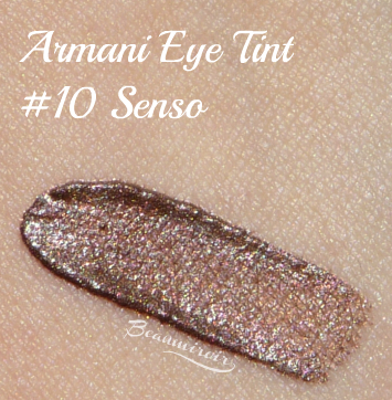 Giorgio Armani Eye Tint in 10 Senso - cream eyeshadow: swatch