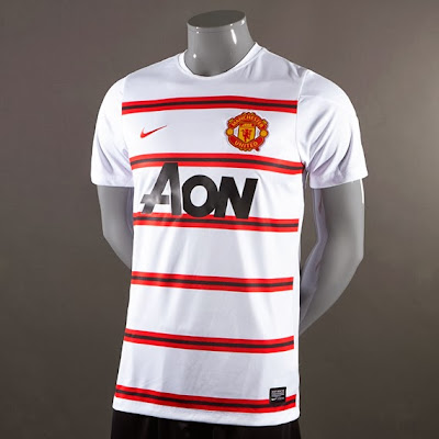 Jersey Grade Ori Training Manchester United White Official 2013-2014