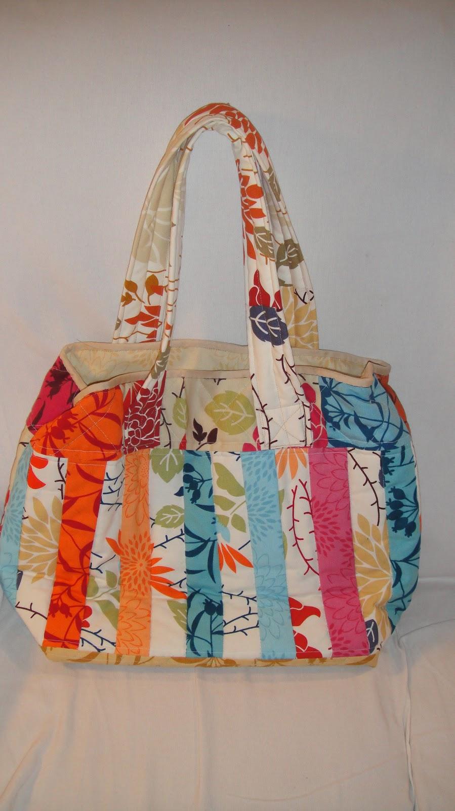 Patrones para hacer bolsos patchwork - Manualidades patchwork bolsos ...