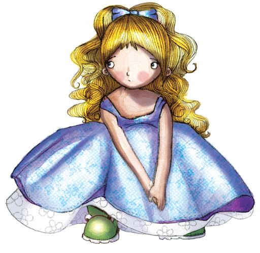Dibujo de preciosa muñeca