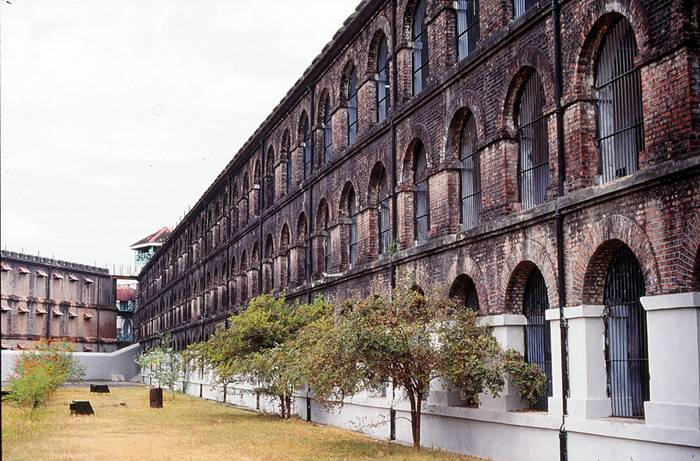 The Cellular Jail, also known as Ka-la- Pa-ani (Black Water), was a colonial prison situated in the Andaman and Nicobar Islands, India. The prison was used by the British especially to exile political prisoners to the remote archipelago. Many notable dissidents such as Batukeshwar Dutt and Veer Savarkar, among others, were imprisoned here during the struggle for India's independence. Today, the complex serves as a national memorial monument.