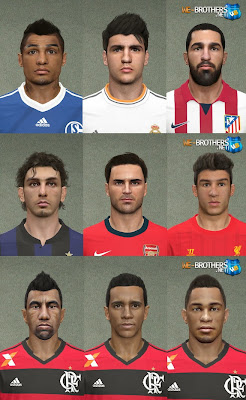 PES 2014 facepack vol.5 by Sameh Momen