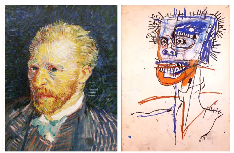 Vincent Van Gogh , Jean-Michel Basquiat