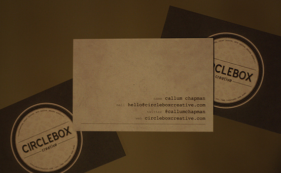 Circlebox Creative Business Card