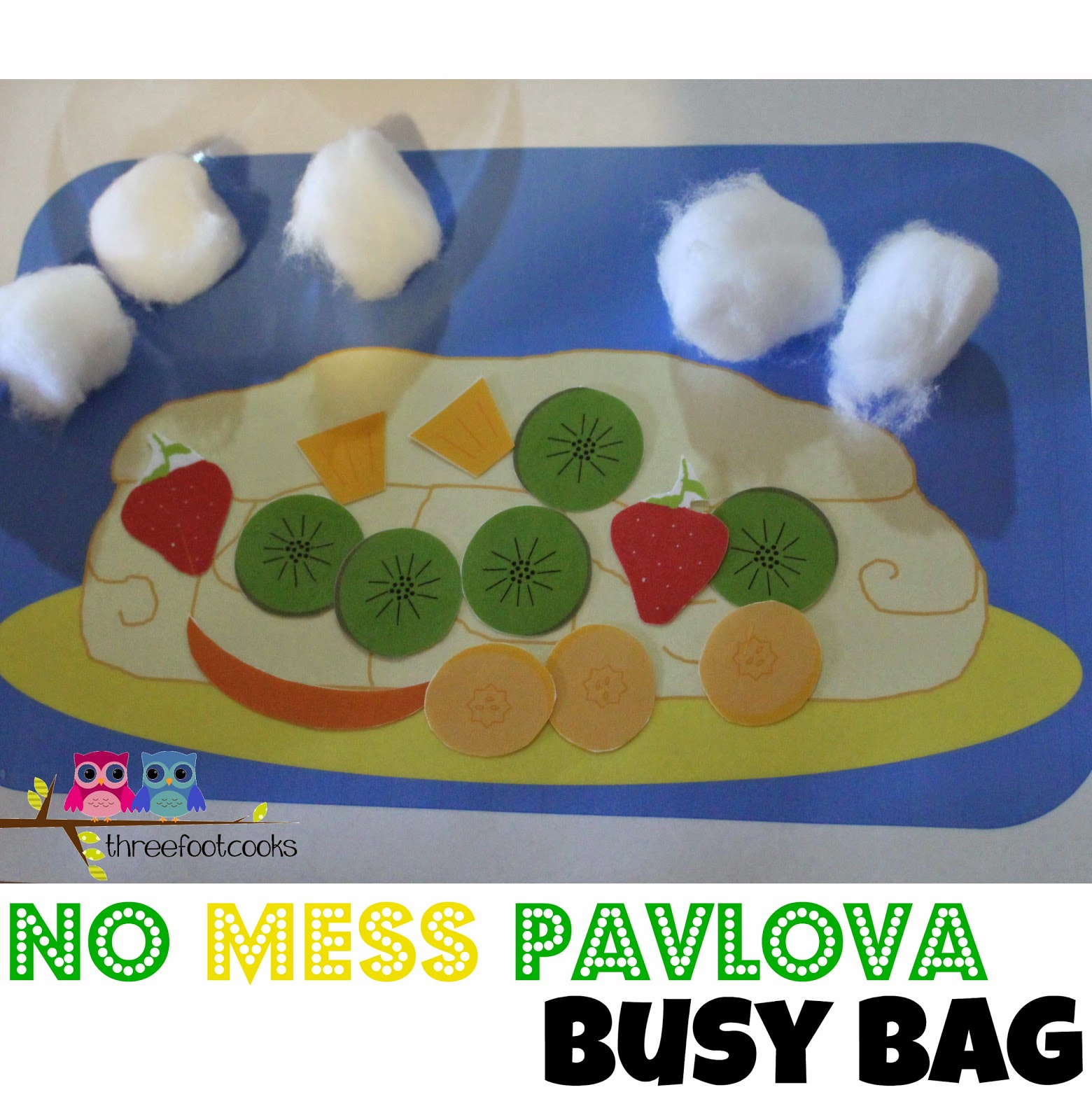Australia Day Busy Bag