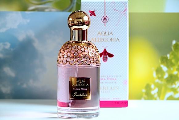 guerlain aqua allegoria flora rosa eau de toilette exclusivité duty free avis test