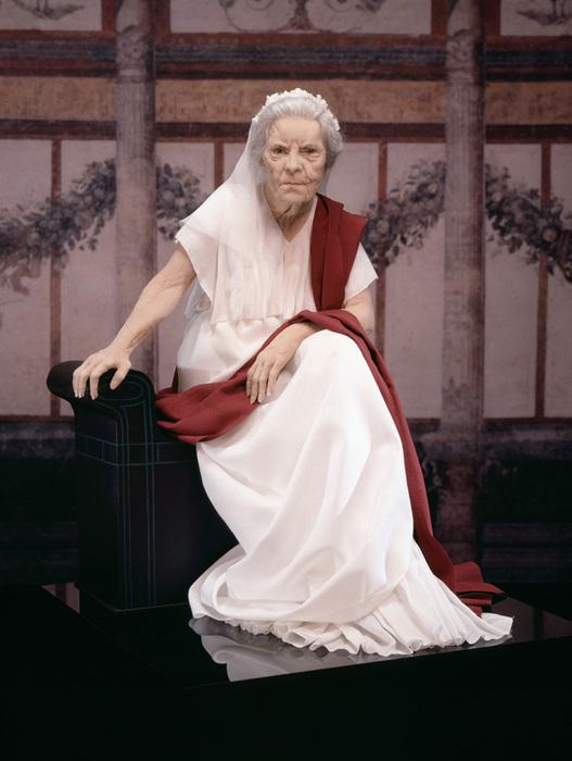 Lisa Lichtenfels Fabric Sculpture at CFM Gallery