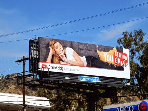 YouTube Grace Helbig billboard