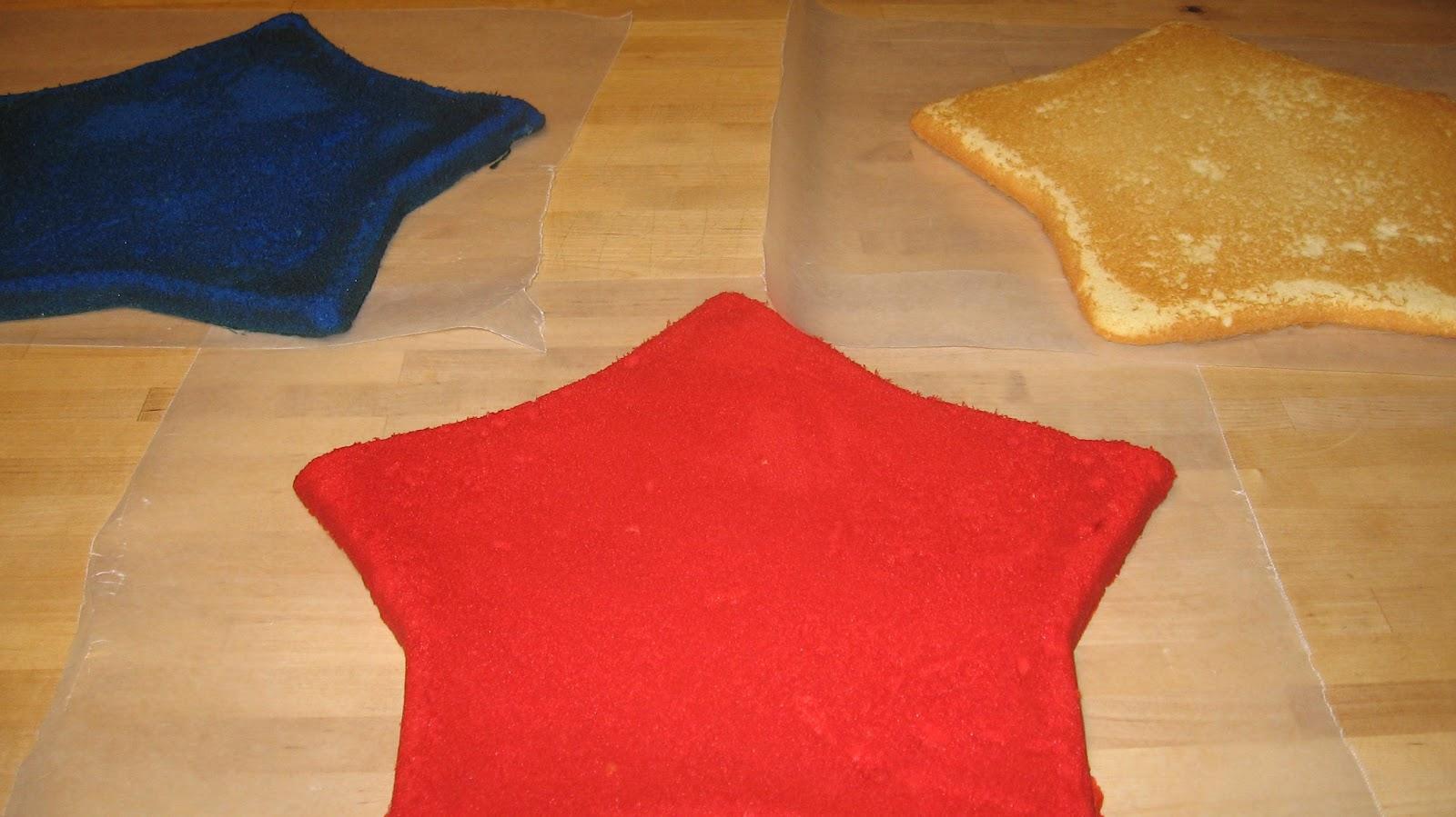 Assembling Jelly Roll Cake