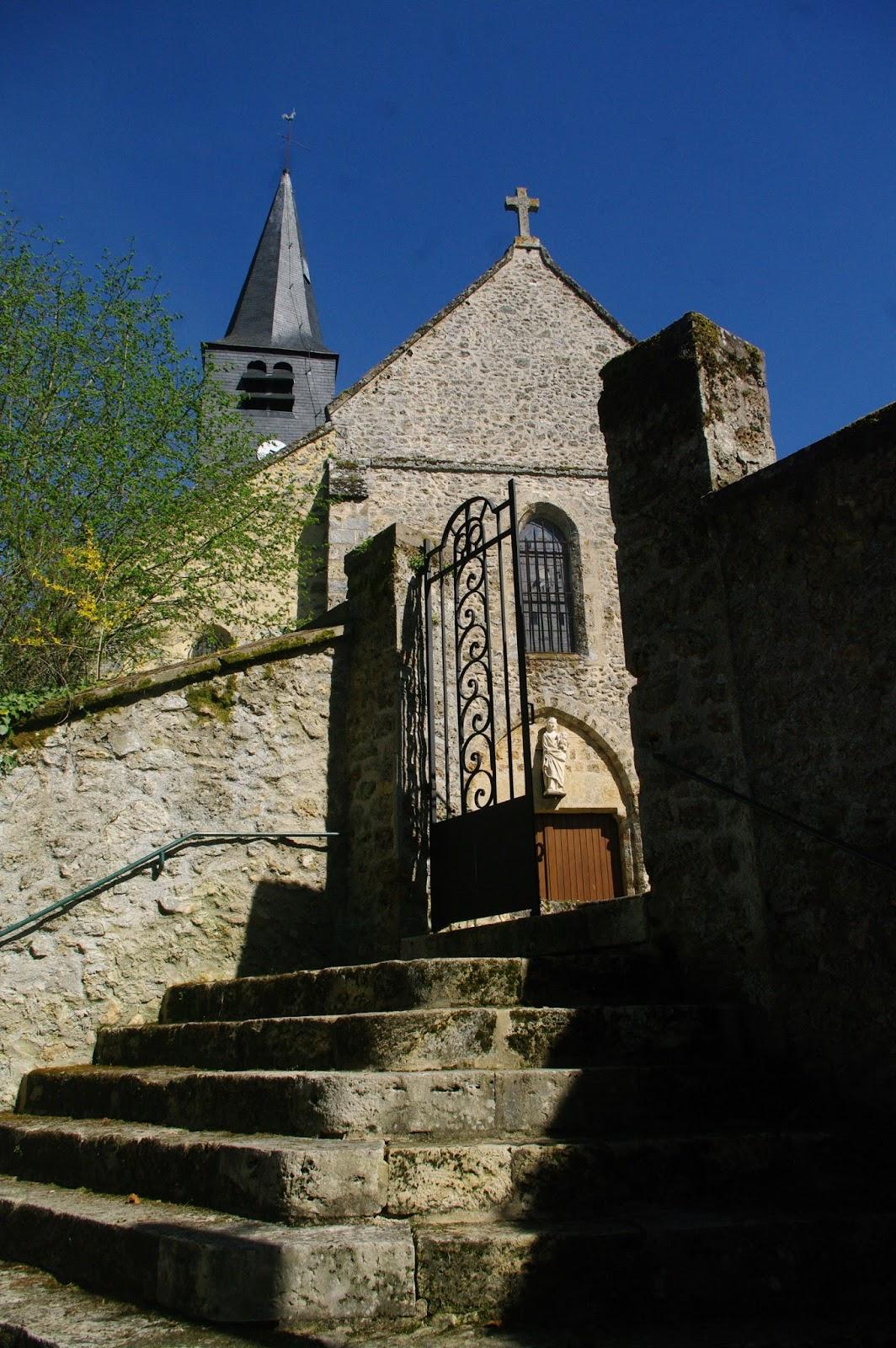 Rue De L Eglise  Cernay La Ville