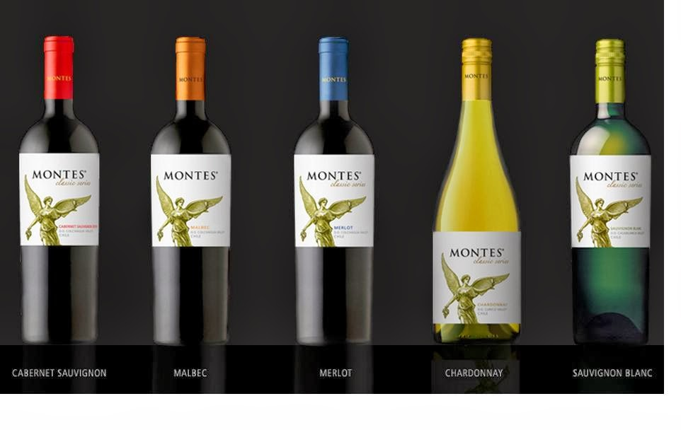 Kết quả hình ảnh cho vang chile montes classic series cabernet sauvignon 2014