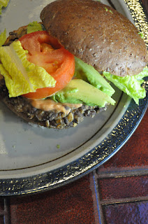 Recipe: Spicy Black Bean Burger!