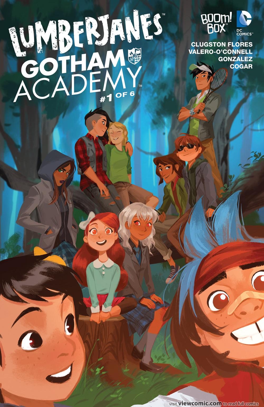 Lumberjanes – Gotham Academy