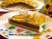 Špaldovo-krupicový koláč s hruškami - recept