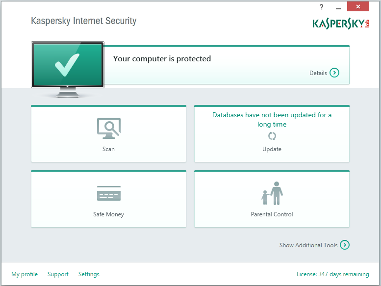 Kaspersky Internet Security 15.0.2.361 Final Terbaru 2015 screenhsot