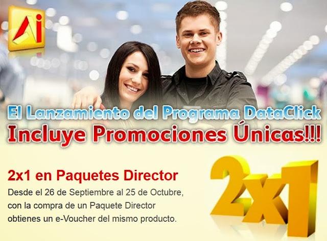Lanzamiento promocion director 2x1