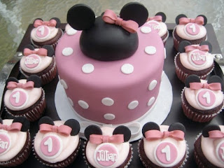 Sweety Minnie Mouse Cupcakes