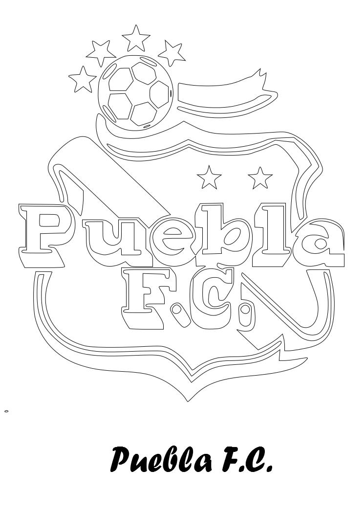Dibujos para Colorear, Pintar , imprimir.....: ESCUDOS FÚTBOL MEXICANO
