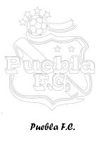 PUEBLA FC PARA COLOREAR