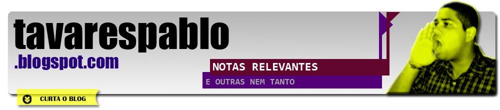 BLOG DO PABLO