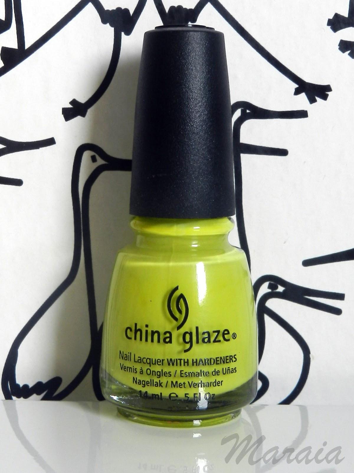 ESMALTES DE UÑAS CHINA GLAZE | Maraia