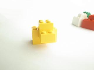 レゴ作品 レゴゴリラ黄色