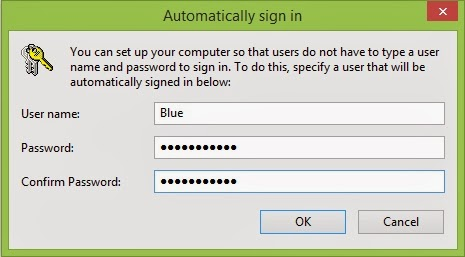 Cara Auto Sign In di Windows 8.1