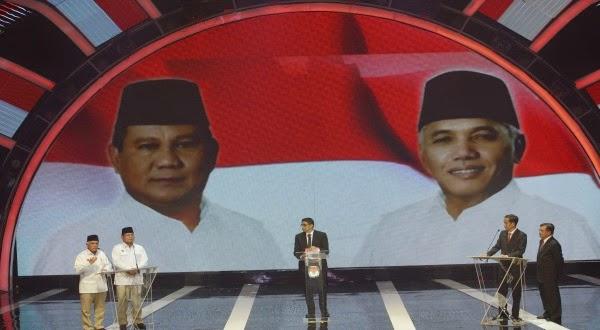 Debat Capres Cawapres, Prabowo - Hatta Lebih Mantap