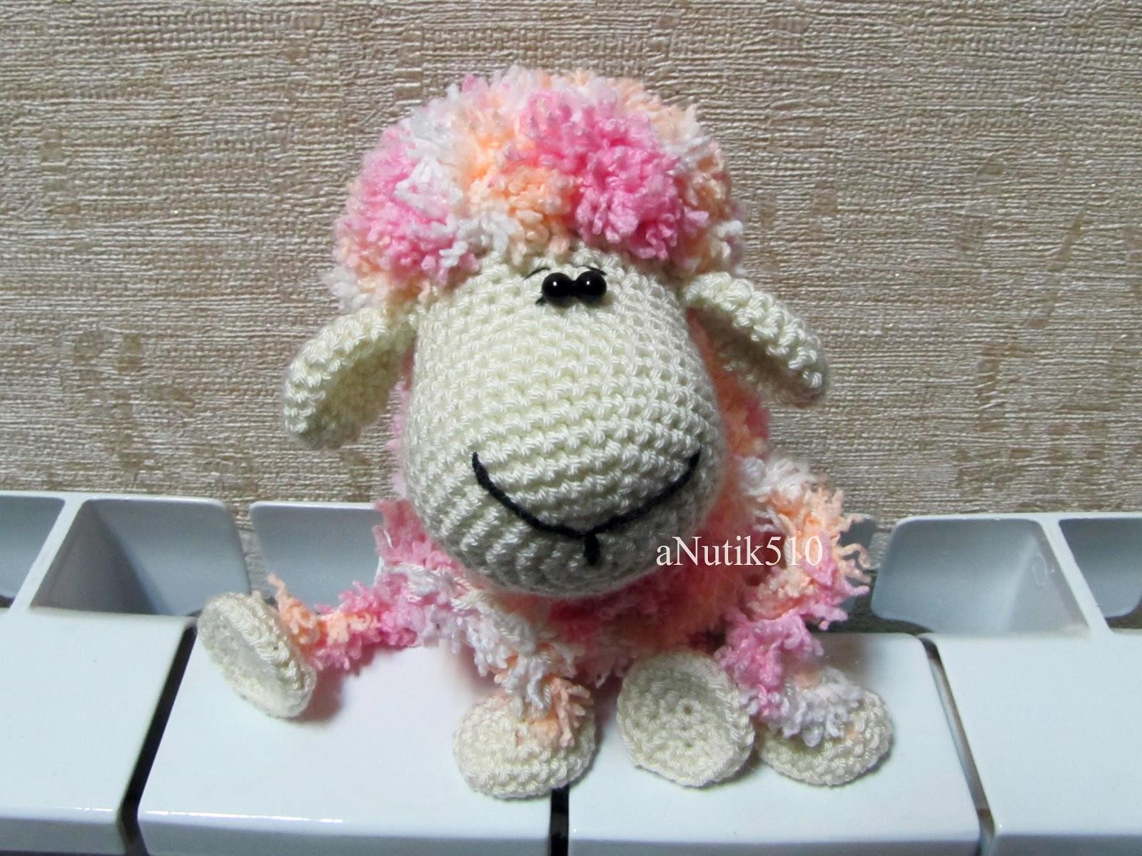 Мастер класс по вязания овечки крючком 152