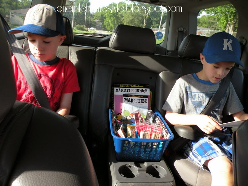 Road trip ready with kids