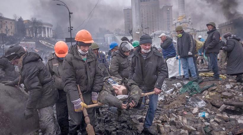 Δραματικές ώρες στην Ουκρανία: Σκηνικό εμφυλίου πολέμου με δεκάδες νεκρούς