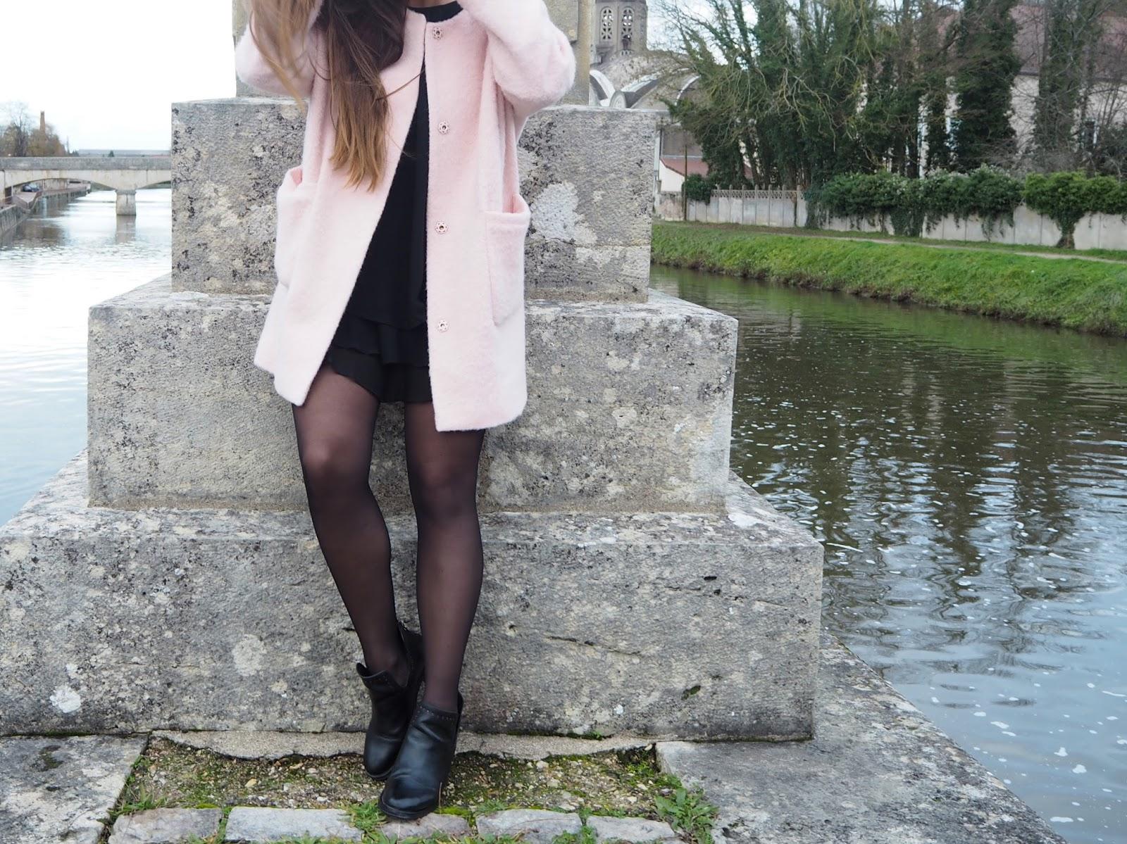 manteau rose Des Petits Hauts