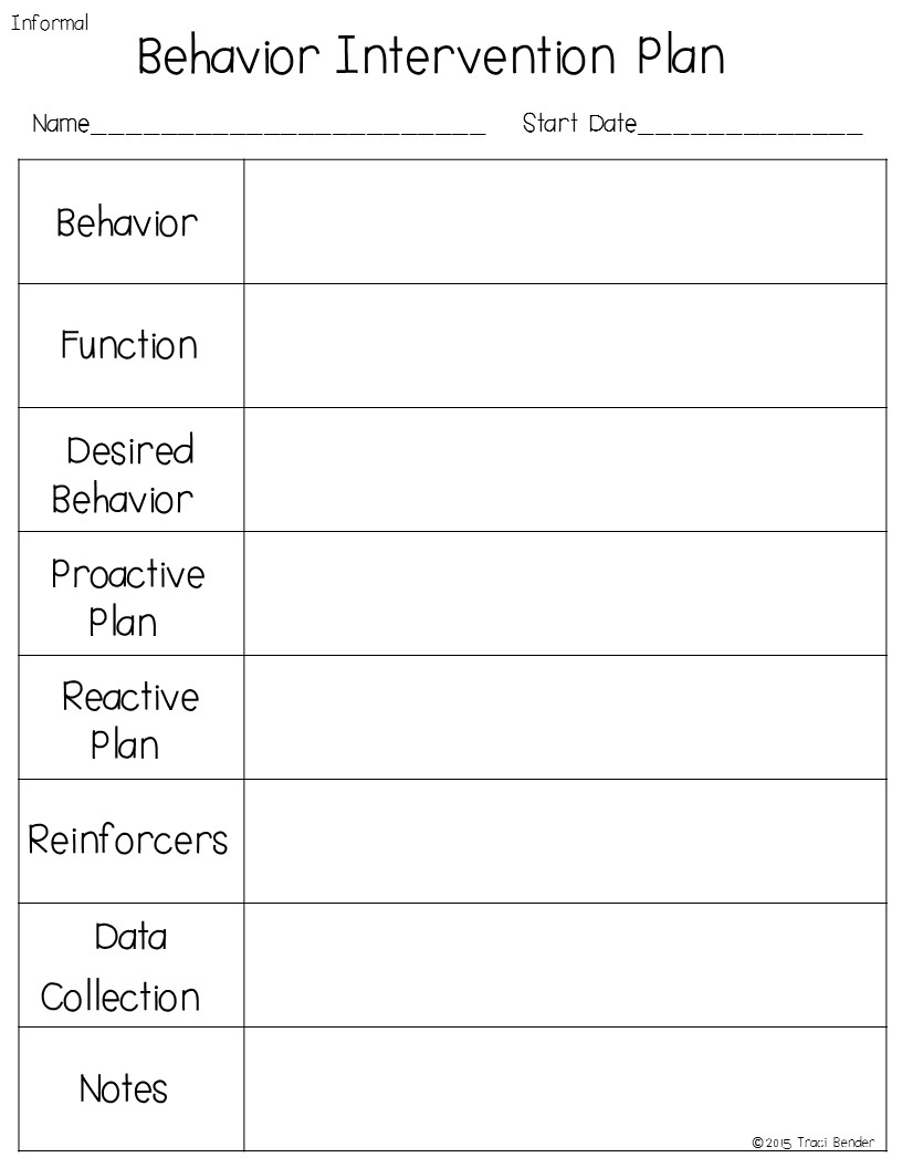 How to Make a Behavior Intervention Plan for an Autistic Child