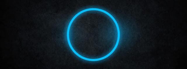 Blue Circle Light
