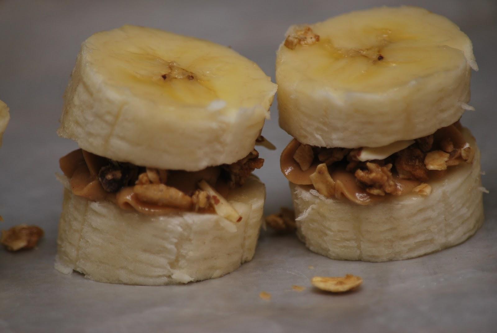 My story in recipes: Banana Peanut Butter Bites