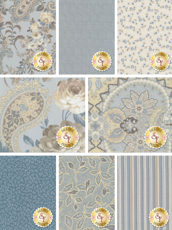 Gatsby's Flora by Anna Fishkin for Red Rooster Fabrics | Shabby Fabrics